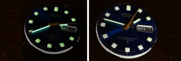 Watch Dial Luminous Restoration